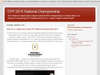 CFP 2015 National Championship