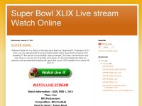 Super Bowl XLIX Live stream Watch Online