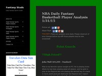 Daily Fantasy Sports Strategy Guide | Fantasy Stud