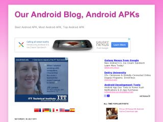 Our Android Blog, Android APKs