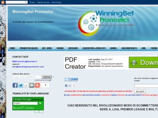 Winningbet pronostici