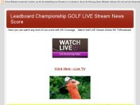 GOLF LIVE STREAM NEWS HIGHLIGHTS