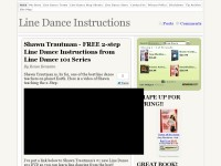 Line Dance Instructions - Your Learning Source