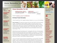 Home Remedies Log