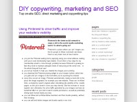 freelance copywriting and marketing blog