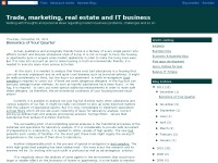 Trade, marketing, real estate and IT business