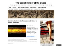 The Secret History of the Sword: Fencing Classics