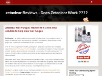 zetaclear Reviews - Does Zetaclear Work ????