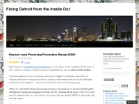 Fixing Detroit fromm the Inside Out