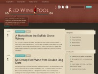 Red Wine Fool