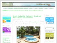 Log Cabin Holidays & Holiday Park Breaks