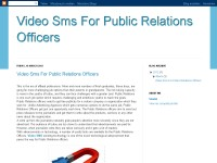Video Sms For Public Relations Officers