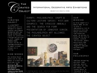 The Curated Object: International Decorative Arts