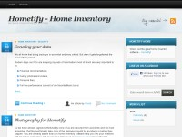 Hometify - Home Inventory Software