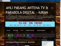 AHLI PASANG ANTENA TV & PARABOLA DIGITAL