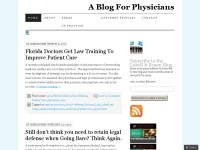 A Blog For Physicians