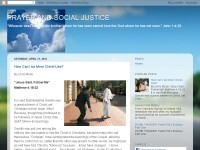Prayer and Social Justice