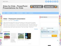Sites for kids - powerpoint presentations for kids