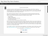 Buy Here Pay Here Car Dealers