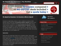 Car insurance without an up front payment info