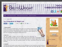 BeLiteWeight | Weight Loss Services