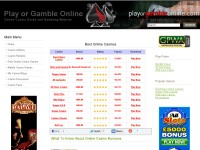 Online Casino Games and Gambling