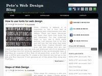 Web Design and Development blog