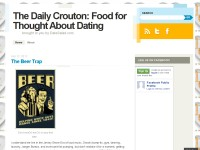 The Daily Crouton: Food for Thought About Dating