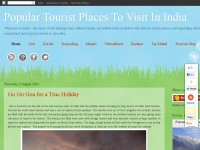 Popular Tourist Places To Visit In India