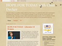Hope for Today with Clint Decker Blog