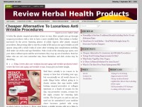 Herbal Health Review Blog