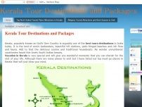 kerala tour destinations and packages
