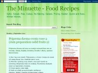 The Minuette - Food Recipes
