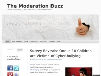 The Online Moderation Buzz