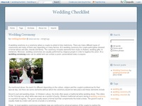 Details about wedding checklist