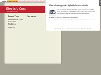 Details for electric cars