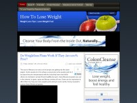 Best Blog For Weigh Loss On The Internet
