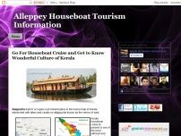 Alleppey Houseboat Tourism Information