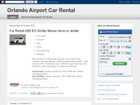 Car rental orlando airport