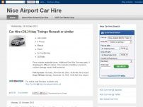 Car hire nice airport