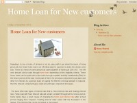 Home Loan for New customers