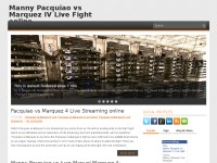 Manny Pacquiao vs Marquez IV Live Fight online