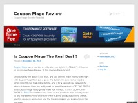 Coupon Mage Review