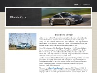 Best electric cars 2013
