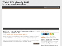 Watch NFL playoffs 2013 Live streaming online