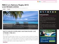 RBS 6 six Nations Rugby 2013 Live Stream online