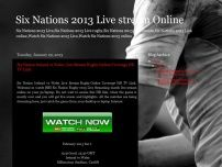 Six Nations 2013 Live stream Online