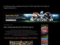 San Francisco 49ers vs Baltimore Ravens Live NFL S