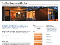 Free Home Improvement Idea Blog