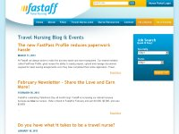 Fastaff Travel Nursing Blog & Events